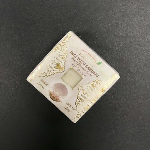 Оливковое мыло с жемчужным порошком